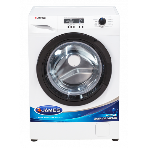 Lavarropas carga frontal james lr-6900 plus 900 rpm lavado diario 30 min