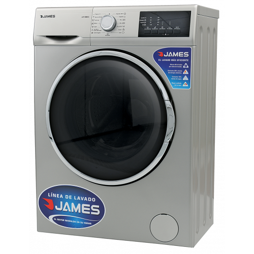Lavarropas james lr-1008 s silver 6 kg 1000 rpm