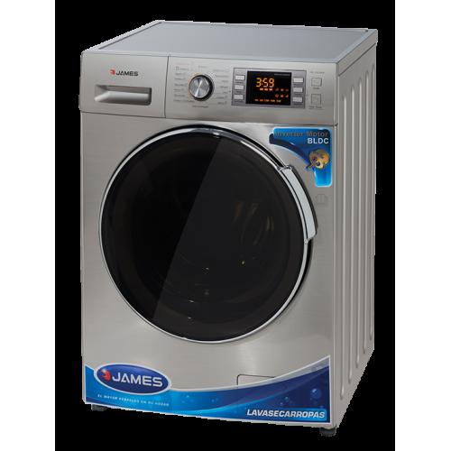 Lava seca ropas james lse-1016 s 10,5 kg inox inverter