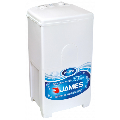Lavarropas james top 076 a 5.5 kg