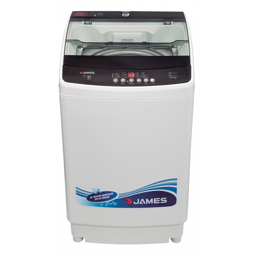 Lava ropas carga superior con centrif.james 700 rpm wmt 1280 n 12kg entrada para agua caliente