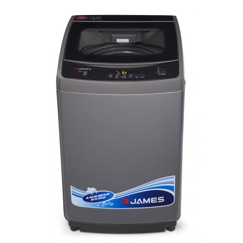 Lava ropas carga superior con centrif. 700 rpm james wmt 1580 n 15kg gris entrada para agua caliente