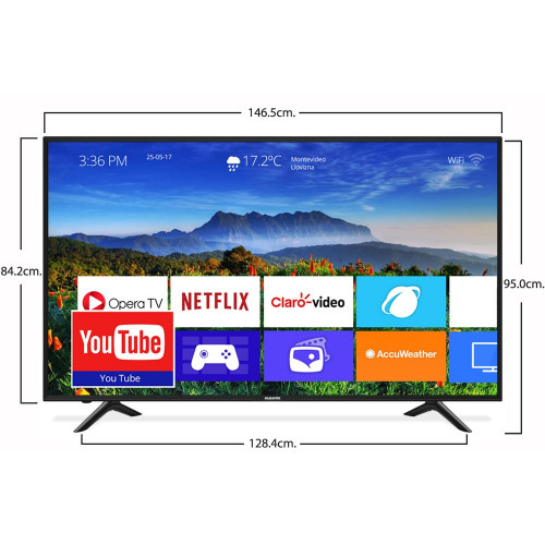 TV LED SMART 65 4K NICS Android, Netflix, Youtube Google play Ultra hd 4k