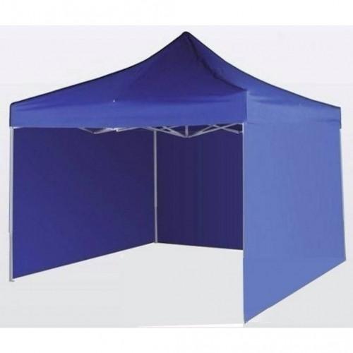 Gazebo auto armable 3*3 con paredes azul o blanco