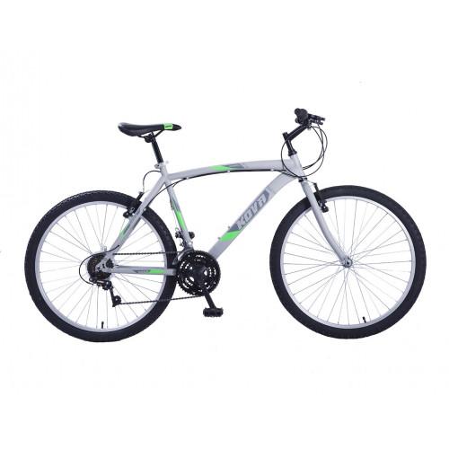 Bicicleta hombre r 26 kova andes 18 vel. gris mate