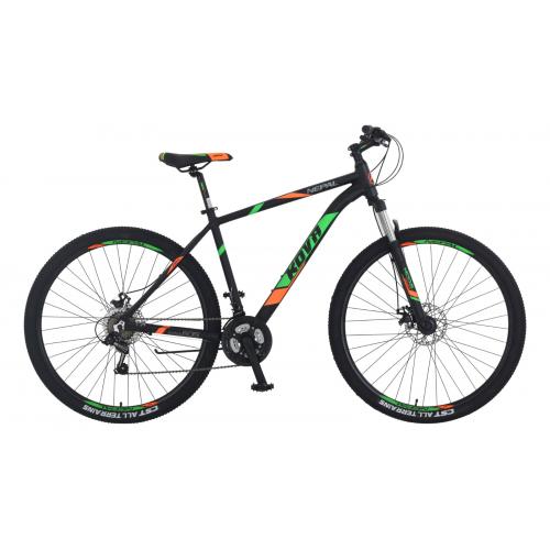 Bicicleta hombre r 27.5 kova nepal freno disco negro mate talle m y l