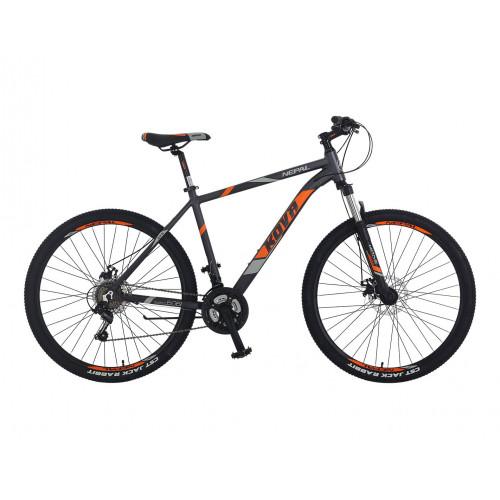 Bicicleta hombre r 27.5 nepal freno disco gris polar talle m y l