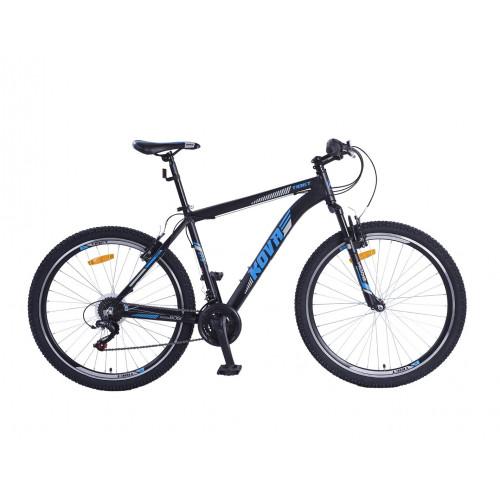Bicicleta hombre r 27.5 kova tibet freno v-brake negro mate/azul talle m y l