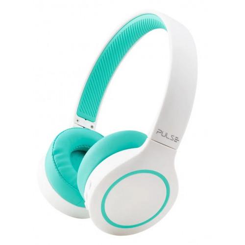 Auricular bt 5.1 pulse ph342 blanco/verde