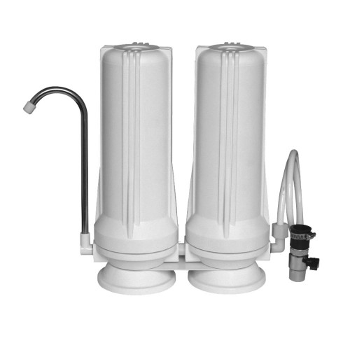 Filtro purificador de agua doble kassel ks-fa2