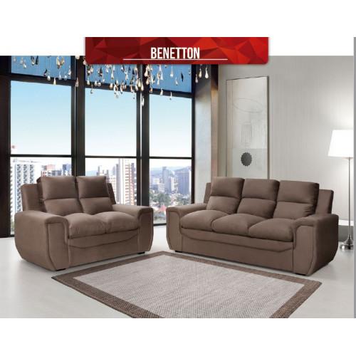 Living en tela benetton 3+2 asientos