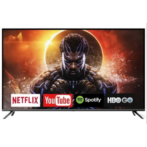 Tv led smart 39 nics android 7.0, youtube, netflix, facebook, play store, miracast