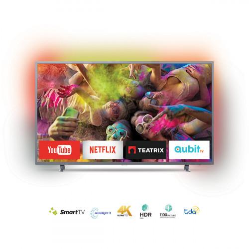 """Tv smart philips 4k con ambilight 55"""""""