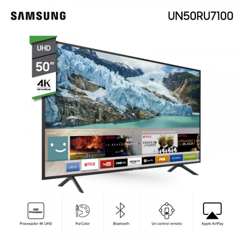 "Led smart tv samsung 50"" uhd 4k"
