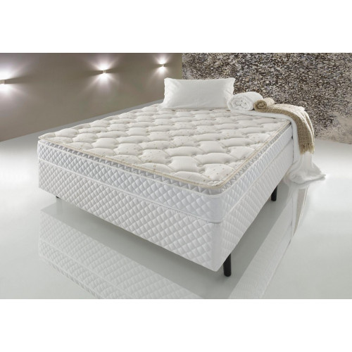 SET COLCHON+BOX ESPUMA 2 PLAZAS PADUA D33 138X188X17