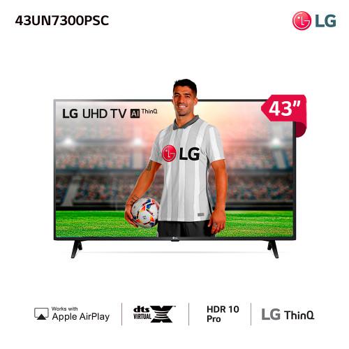 Tv led smart 43 4k lg un7300psc