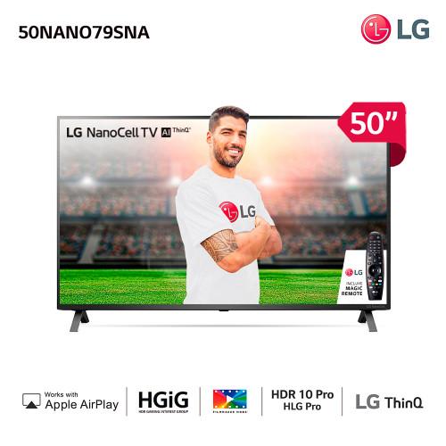 Tv led smart 50 4k lg 50nano79sna nanocell