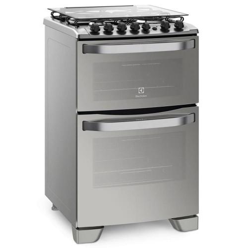 Cocina doble horno combinada electrolux 56dxq inox