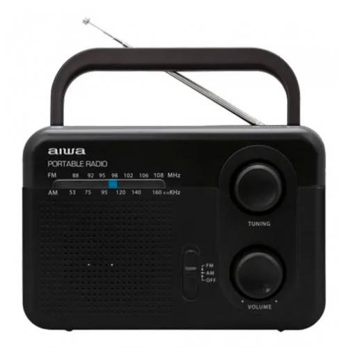 RADIO AIWA AW-LR411AMFM AM/FM CON PILAS Y ELECTRICIDAD 110-220V