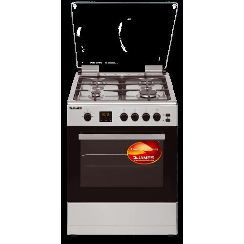 Cocina james supergas c-26 a tks inox frente acero