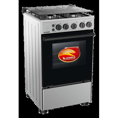 Cocina james supergas c-510mit encendido toda de acero