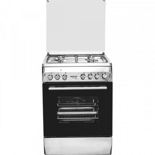 Cocina toda a gas itimat 2313400 inox negra