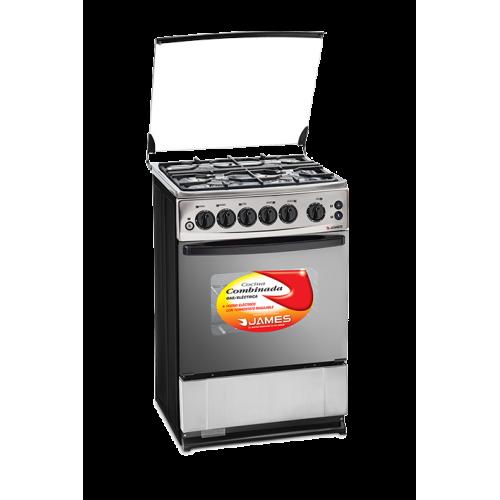 Cocina combinada james c-225 ch frente acero