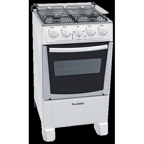 Cocina combinada james c-205 b blanco