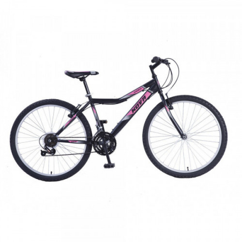 Bicicleta dama r 26 kova andes negro/lila