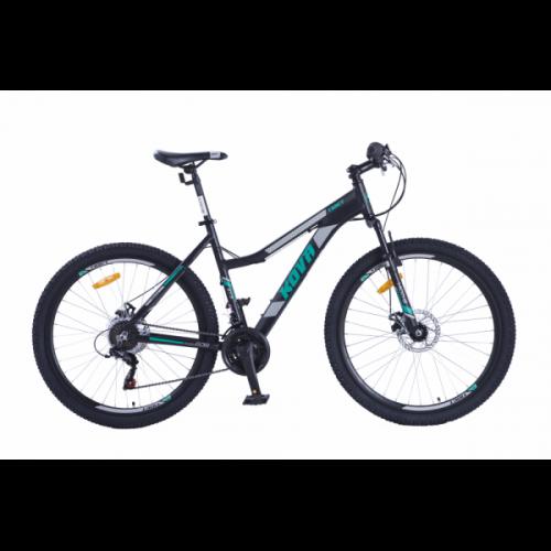Bicicleta dama r 27,5 kova tibet freno disco negro mate talle m