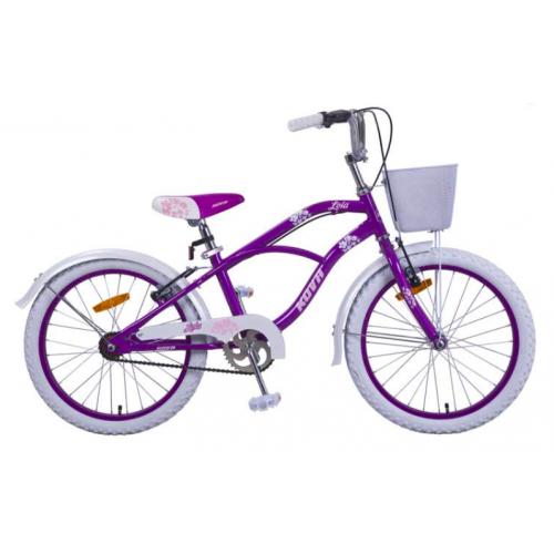 Bicicleta niña r 20 kova lola violeta