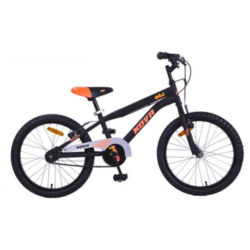 Bicicleta niño r 20 kova obi negro mate