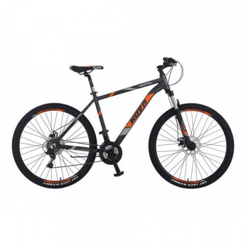 Bicicleta hombre r 27.5 kova nepal freno disco gris polar talle m y l
