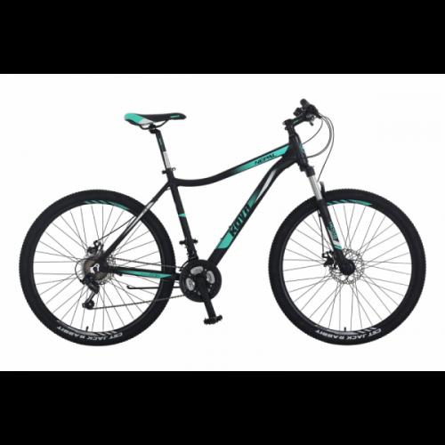 Bicicleta dama r 27.5 kova nepal freno disco negro mate talle m y l