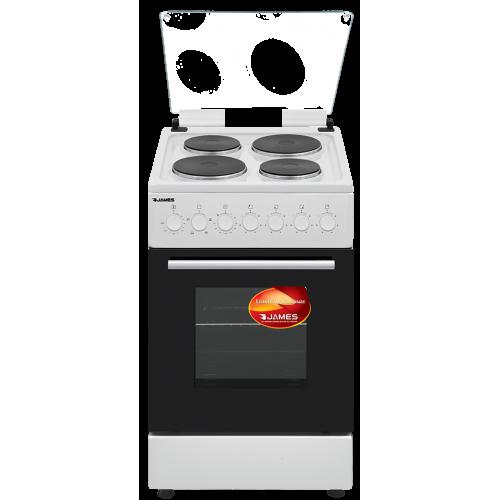 Cocina electrica james c-801 a rtks blanco