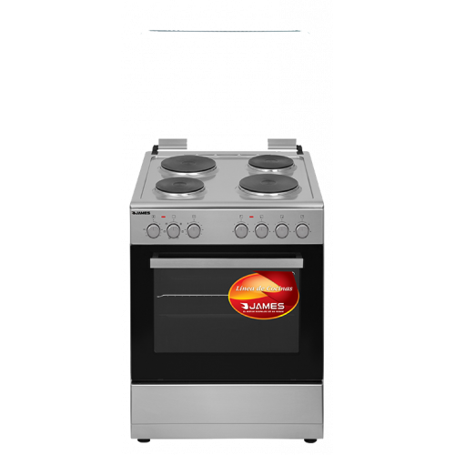 Cocina electrica james c-202 a tks frente acero