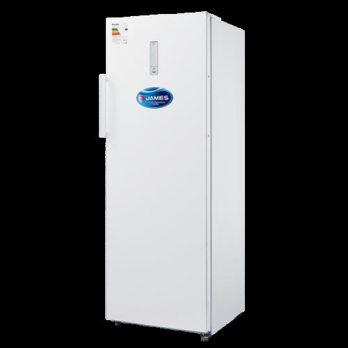 Freezer vertical james fvj-320 nfm frio seco puerta reversible