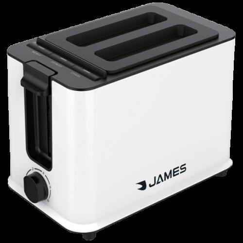 Tostadora james tj2p (blanca) 800/950w