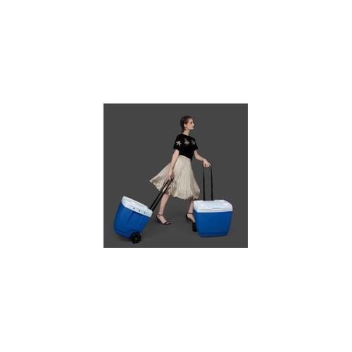 Conservadora con rueditas 42 lt 25108221 conservadora 42l con ruedas - azul (poliestireno)