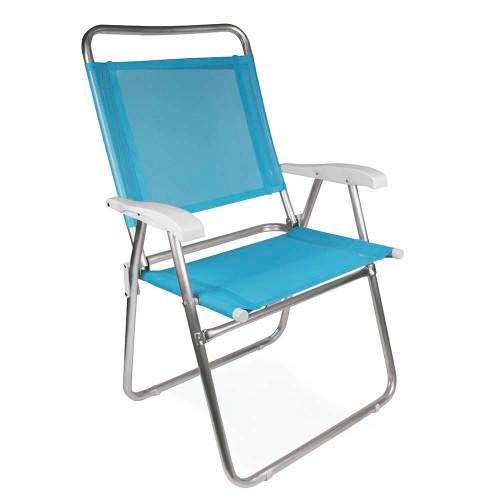 Silla mor master plus aluminio 2119 fashion (azul, anis, coral, azul marino)