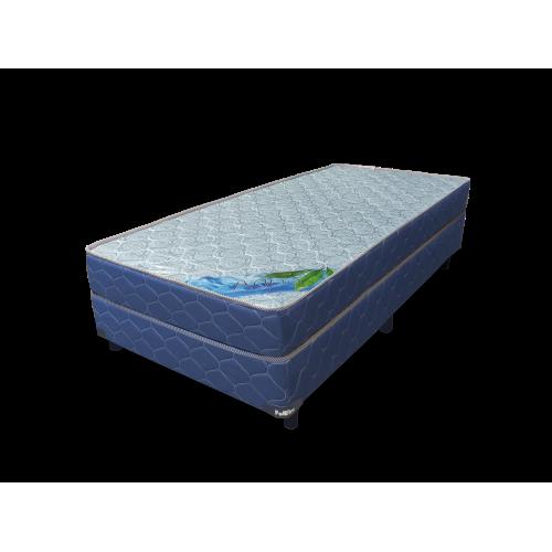 Set colchon + box poliflex aqua 80 185 17