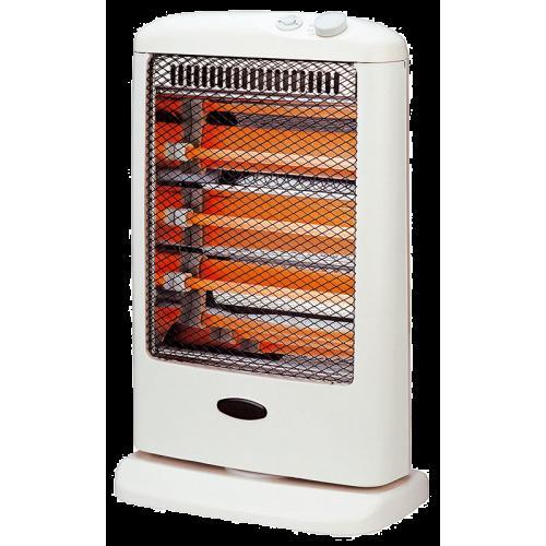 CALEFACTOR HALOGENO JAMES CHE 1200 (400+400+400 w) ● Protector térmico ● Oscilante