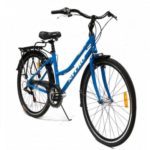 Bicicleta r 27,5 aluminio dama 700 c nitro con parrilla