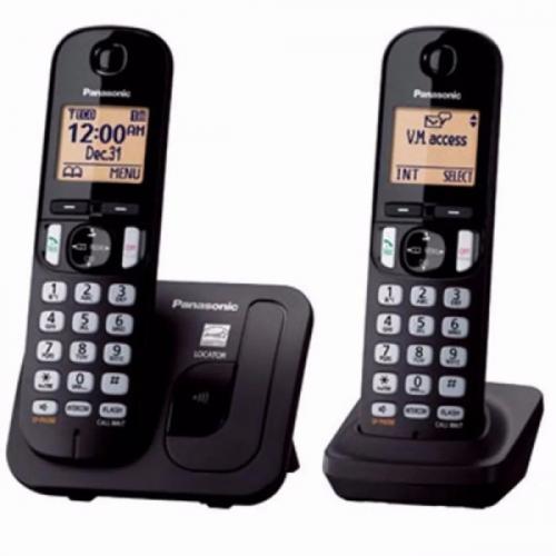 Telefono inalamb panasonic tgc212lcb 2 tubos