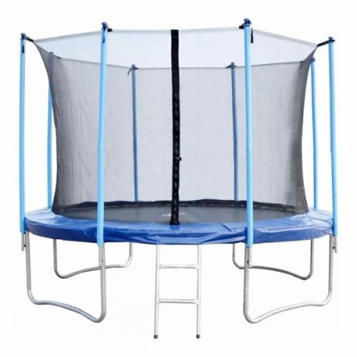Trampolín cama elástica 3.05m - red exterior y escalera