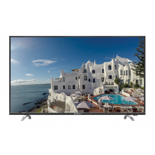 Tv led james 49 smart 4k uhd s49d1850 acceso directo a netflix y youtube desde control