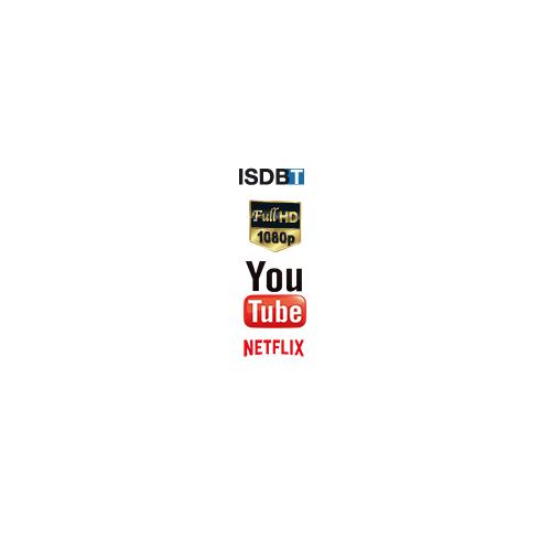 TV LED JAMES 49 SMART 4K UHD S49D1850 ACCESO DIRECTO A NETTFLIX Y YOUTUBE DESDE CONTROL