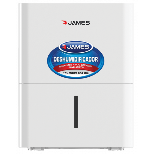 Deshumidificador james dj-10 dn - 16 a 31 m2 - 10 l./día