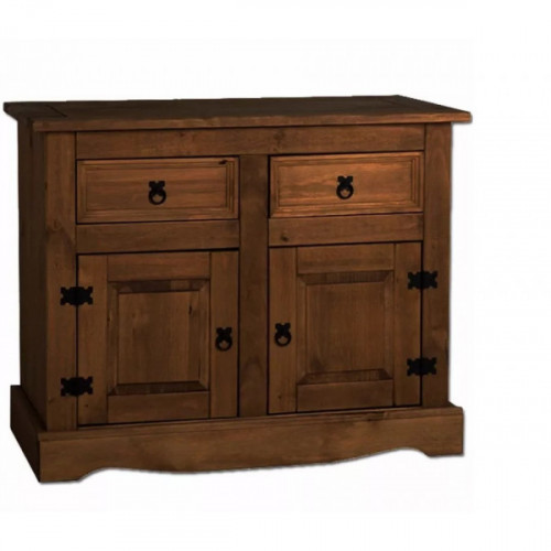 Mueble 2 puertas y 2 cajones pino elliottis 22/112 alt 84x108 x48prof