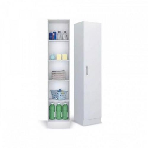 Mueble multiuso panelero 1 pta 802-01 blanco med.: 0,39x1,82x0,37 m